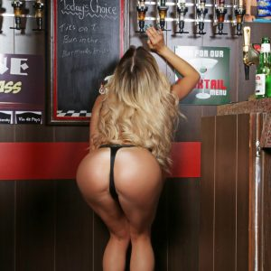 Hot Barmaid